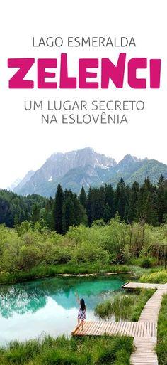Lago Zelenci na Eslovênia, dicas para visitar, Kranjska Gora Montenegro, Perfect Place, Things I Want, Road Trip, Scenery, Mountains, Travel Europe, Trips, 1