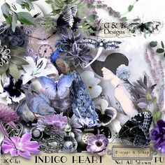 INDIGO HEART by G Designs. Another stunning collection that includes 112 Elements PNG Files 30 Papers JPG Files 3600 x 3600 14 Frames PNG Files 6 Clusters/7Page Accents PNG Files 14 WA PNG Ftles PU Only https://www.e-scapeandscrap.net/boutique/index.php?main_page=product_info=113_189_id=7550