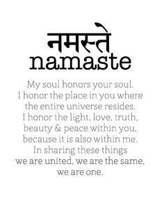 The power of Namaste//sanskrit words how to write namaste - Sanskrit Symbols, Sanskrit Tattoo, Sanskrit Words, Spiritual Symbols, Namaste Tattoo, Ahimsa Tattoo, Namaste Symbol, Buddhism Tattoo, Buddhist Symbols