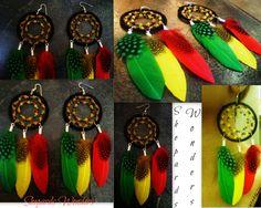 Rasta Dreamcatcher Earring fro my online store