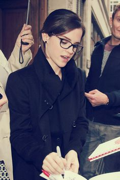 Emma Watson's Glasses #wearthemproudly #oyerevolution