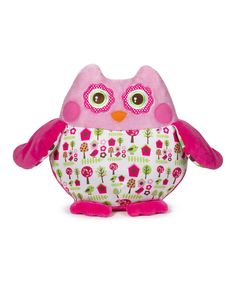 Take a look at this GANZ Pink Birdhouse Owl Plush Toy on zulily today!