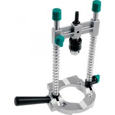 How To Convert A Hand Drill Into A Drill Press Portable