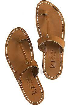 K Jacques St Tropez Ganges Toe Ring Sandals