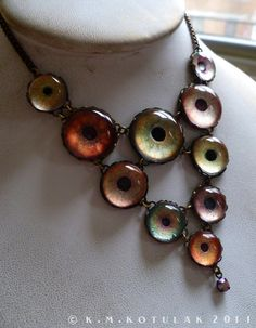 Beautiful Savage  Handmade Brass Animal Eye by Hibernacula on Etsy, $96.00
