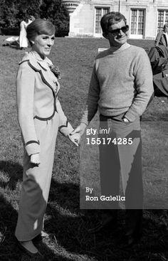 Julie Andrews and Blake Edwards Darling Lili backstage