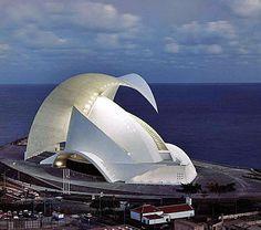 Auditorio de Tenerife, Canary Islands, Spain:
