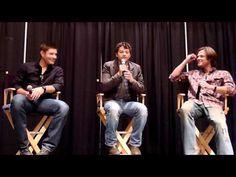 ▶ Jensen, Jared and Misha on Breaking Stuff - YouTube