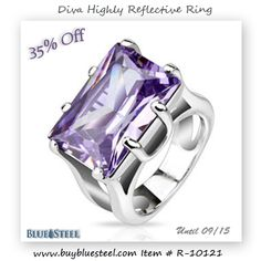 Color of Royalty Purple Diva Ring 35% Off  Don't Forget To Repin!