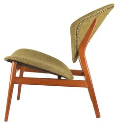 Anonymous; Easy Chair in the Style of Arne Hovmand-Olsen, 1950s.