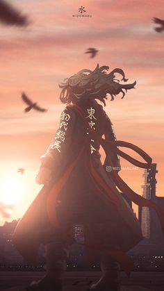 Mikey Tokyo Revengers, cloud, sky, takemitchy, anime aesthetic, baji keisuki, HD mobile wallpaper