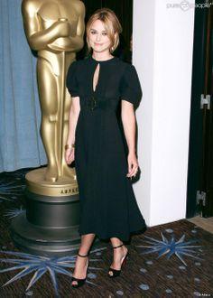 Keira Knightley lors du déjeuner des nommés aux Oscars à Los Angeles le 13 février 2006