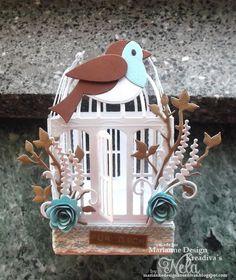 Nelasbasteleien: Vogelkäfig
