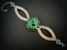 Náramky - Slza Emerald - 2544962