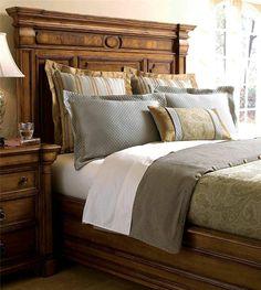 Thomasville Furniture Rivage King panel bed 44611-436