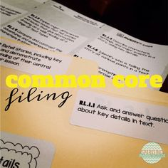 common core, filing, 1st grade, first grade, 2nd grade, second grade, sparkling in second, sparkling in second grade, common core filing, common core standards, common core files, CCSS