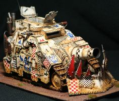 CoolMiniOrNot - ORK KILL BURSTA TANK by sered67