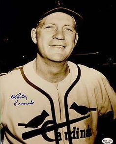 Whitey Kurowski Signed Autographed 8 x 10 Photo St. Cardinals Baseball, St Louis Cardinals, See Games, Mlb Stadiums, Baseball Pictures, Cartoon People, Mlb Teams, Great Team, Baseball Players