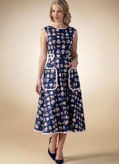 M7354 | McCall's Patterns. Designed for medium-weight woven fabrics.FABRICS: Cotton Blends, Gingham, Linen, Sateen.