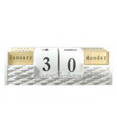 Calendar lemn Flip Clock, Calendar, Home Decor, Decoration Home, Room Decor, Life Planner, Home Interior Design, Home Decoration, Interior Design