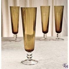 Godinger Amber Flutes Gold Flatware, Flutes, Make It Simple, Amber, Tableware, Silver, Shopping, Flute, Dinnerware