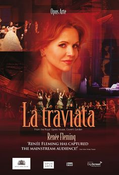 La traviata by Verdi . . . one of my favorites. My fave soprano, my fave opera... awesome poster idea!