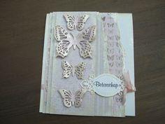 Vlinderkaart van Maja papier en de vlinders van Cheery Lynn