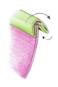 Les finitions de couture ne sont pas toujours faciles à réaliser. Ce tuto vous explique comment poser un biais pour terminer soigneusement vos créations! Sewing Online, Couture Sewing, Diy Couture, Dress Patterns, Sewing Patterns, Sewing Tutorials, Sewing Hacks, Sewing Projects, Sewing Crafts