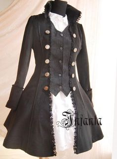 Infanta Gothic Prince coat. $85.95, but comes with a matching bow jabot-type thing for an extra 9 dollars.