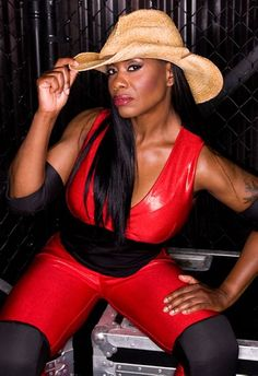 WWF/WWE Diva and TNA Knockout Jacqueline Moore