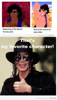 Michael Jackson's favorite character! xD
