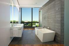 Bathroom at Stylish Ultra Modern Penthouse Design Ideas