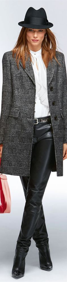 ✿~LEATHER GIRLS `✿⊱╮  **Madeleine New Fall 2014**