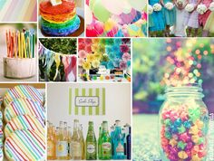 rainbow-wedding  ♥ ♥ ♥ Follow [YumYum Weddings @ Pinterest] for 2013's best wedding pinspiration now.
