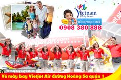 Vé máy bay Vietjet Air đường Hoàng Sa quận 1