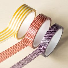 Color Me Autumn Designer Washi Tape - by Stampin' Up!