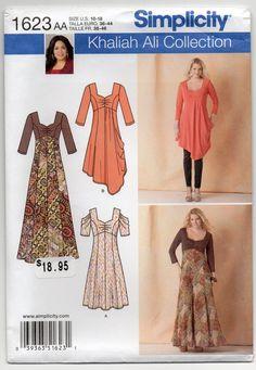 Khaliah Ali Knit Dress In Two Lengths Long Dress With by Rosie247