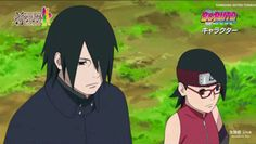 Boruto The Movie - Sasuke and Sarada
