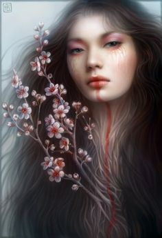 Juxtapoz Magazine - The Fantasy Art of Anna Dittmann Digital Portrait, Digital Art, Digital Paintings, Photoshop, Fantasy Women, Oeuvre D'art, Cool Artwork, Amazing Artwork, Art Photography