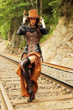 Steampunk Rail Style.