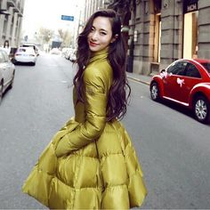 Winter jacket women 2015 New Fashion Women's Down Coat Ladies thick Long Slim Cotton padded Jacket Outerwear Casual Parka-in Down & Parkas from Women's Clothing & Accessories on Aliexpress.com US $56