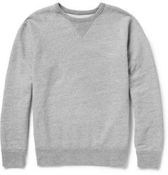 Brushed Loopback Cotton-Jersey Sweatshirthttp://rstyle.me/~10hYk