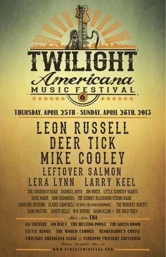 Twilight Americana Festival, Athens Georgia Schedule & Info | Music News | Zumic
