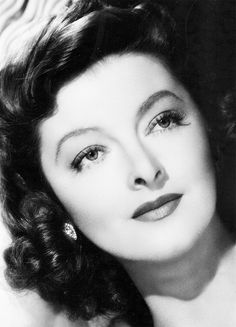 "Myrna Loy.  I loved her in ""Mr. Blandings Builds His Dream House"" with Cary Grant!"