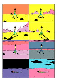 by Michael DeForge Comic Books Art, Comic Art, Design Comics, Bd Comics, Comic Panels, Illustration Sketches, Creative Inspiration, Comic Strips, Art Inspo