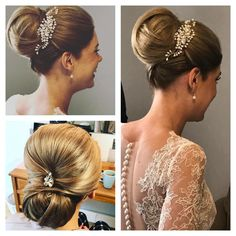 Spring Bride Fresh water pearl hair vine and matching cluster pin. From £50. Stunning new collection perfect for up-do bridal hair styles and more relaxed boho bridal hair. Handmade with beautiful crystals and fresh water pearl https://m.facebook.com/bridaltiaras