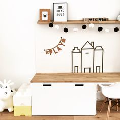 48 brilliant playroom decor ideas 68 ~ Home Design Ideas Play Corner, Kids Corner, Playroom Decor, Playroom Organization, Kids Decor, Toy Rooms, Kid Spaces, Kids Bedroom, Bedroom Ideas