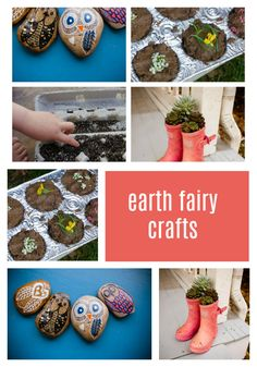 Earth fairies are gnomes. They live in the earth and feel very at home with rocks and soil and roots. We've rounded up four sparkle crafts that we think any earth fairy would really love. Summer Crafts, Crafts For Kids, Sparkle Stories, Sparkle Crafts, Fairy Crafts, Gnomes, Fairies, Roots, Earth
