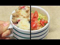 Tres fáciles desayunos que puedes hacer dentro de una taza