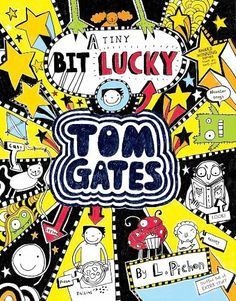 Tom Gates: A Tiny Bit Lucky by Liz Pichon, http://www.amazon.co.uk/dp/1407138871/ref=cm_sw_r_pi_dp_N3WLtb1YMHA2P